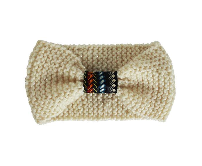 Cache oreilles laine et wax Kipé