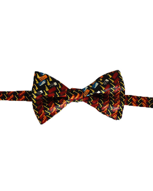 Noeud papillon en wax tissu pagne africain Kipé