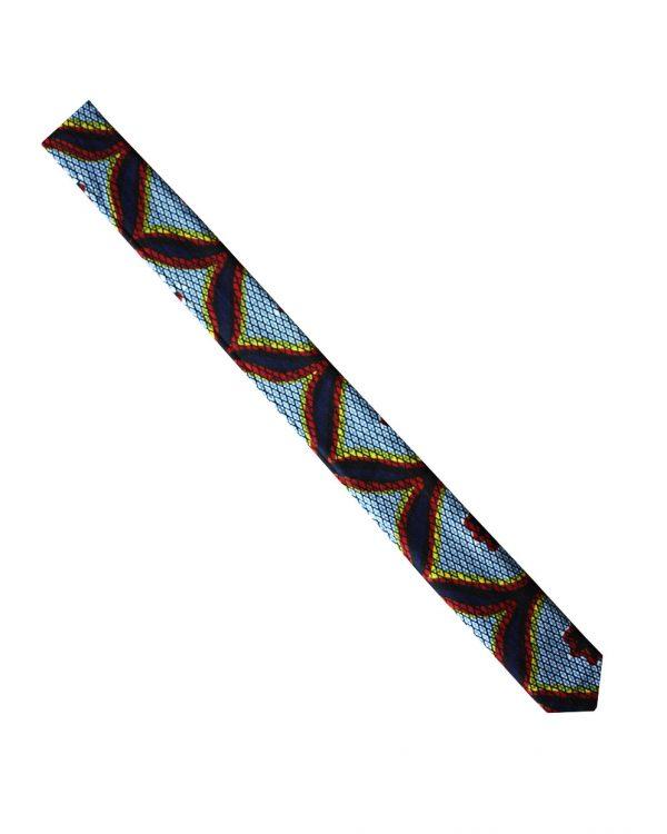 Cravate en wax | cravate en pagne africain |Le Noeud Kipé