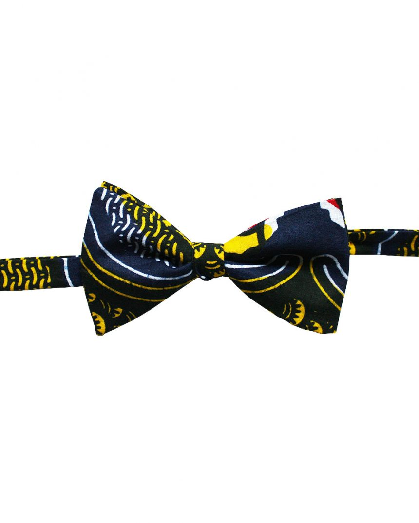 Noeud papillon homme en wax (tissu africain) | Le Noeud Kipé