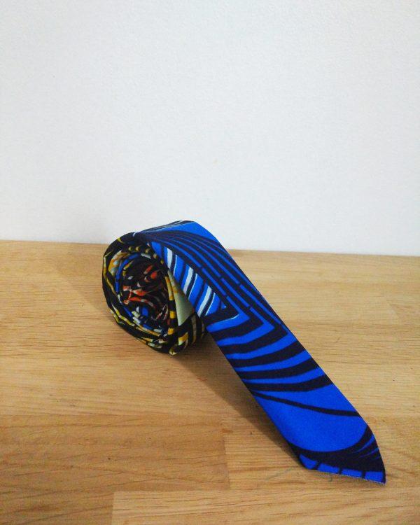 Le Noeud Kipé - Accessoires Wax Tissu africain - Cravate Boma