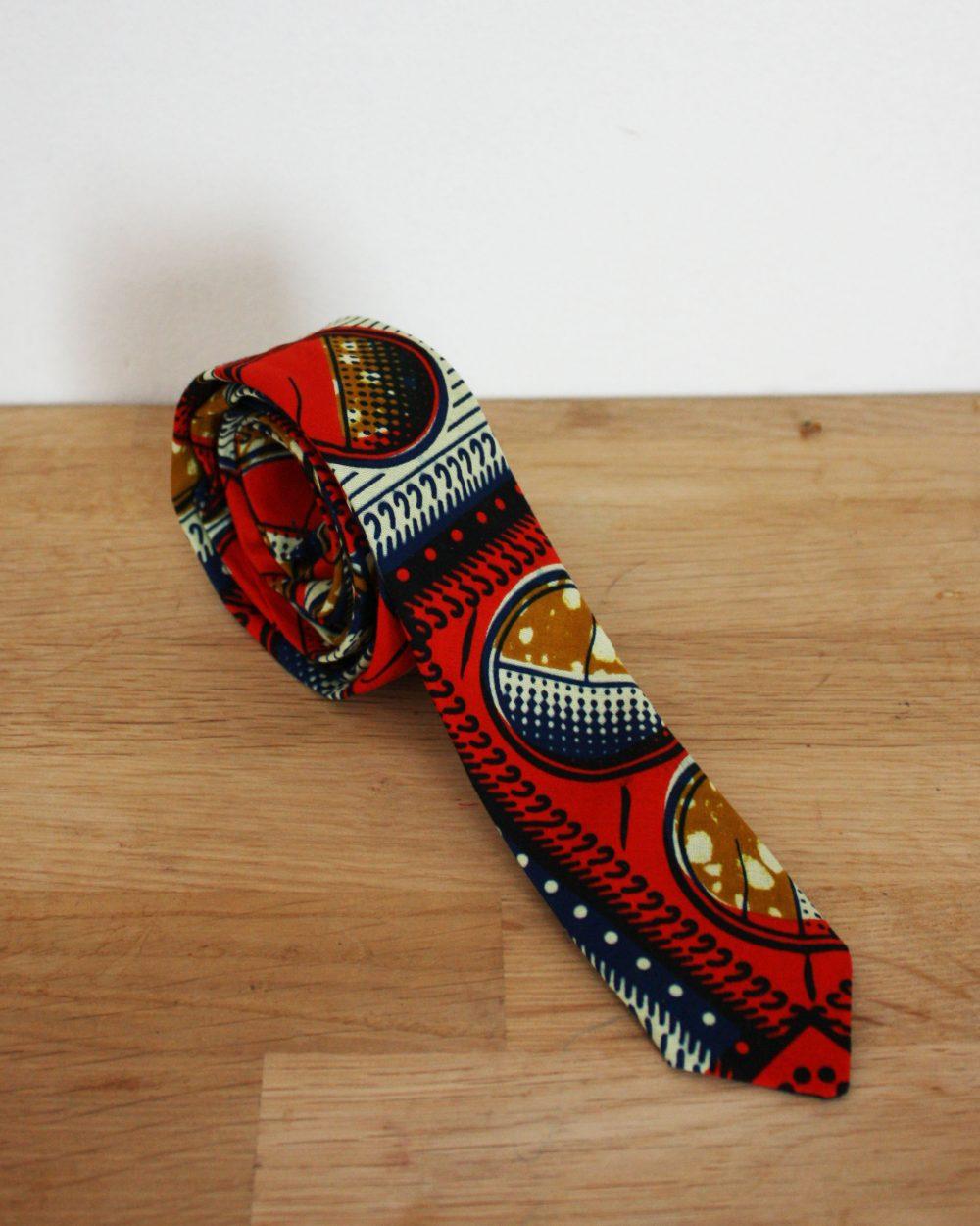 Le Noeud Kipé - Accessoires Wax Tissu africain - Cravate Carré Chic