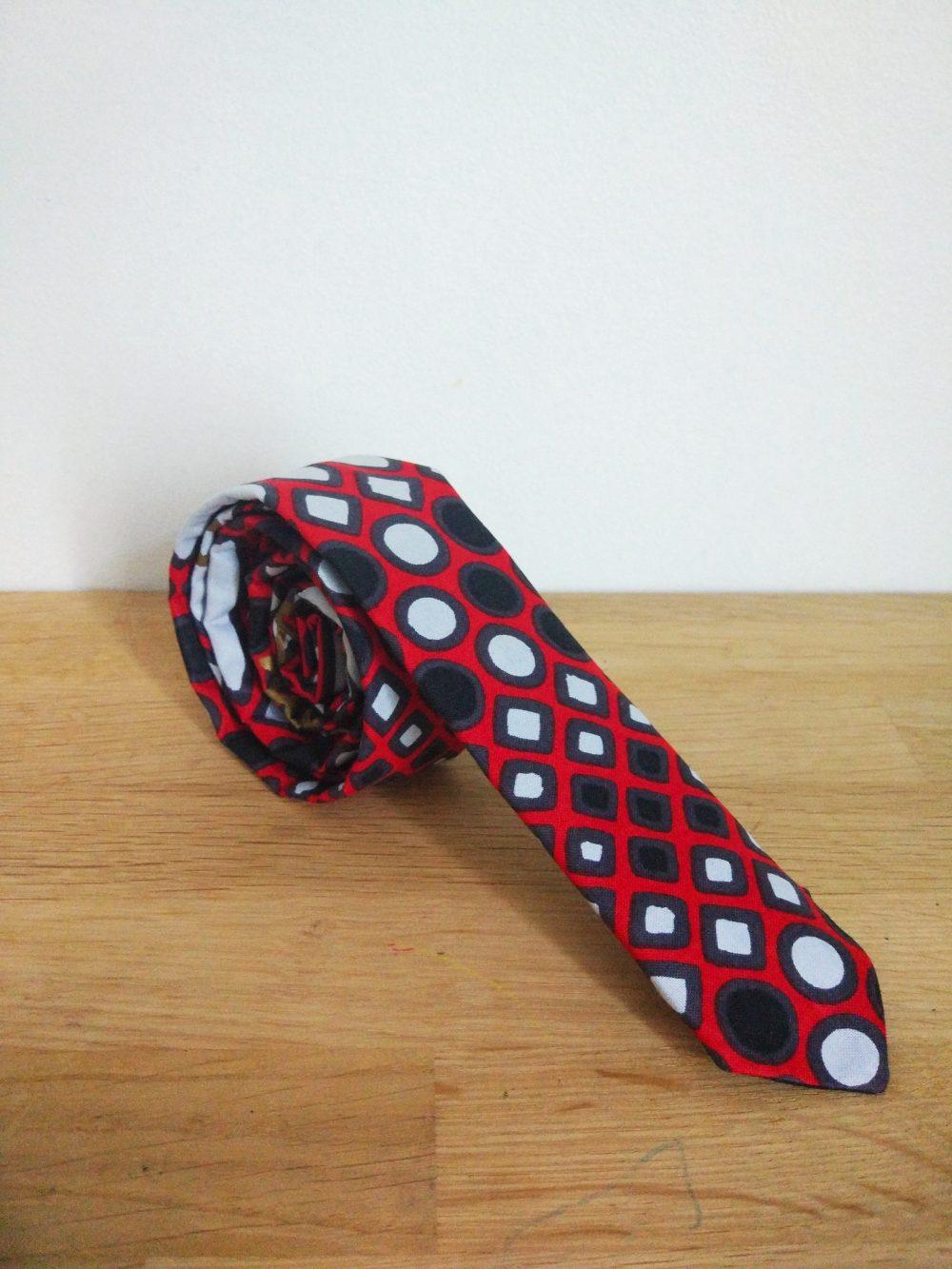 Le Noeud Kipé - Accessoires Wax Tissu africain - Cravate Sika