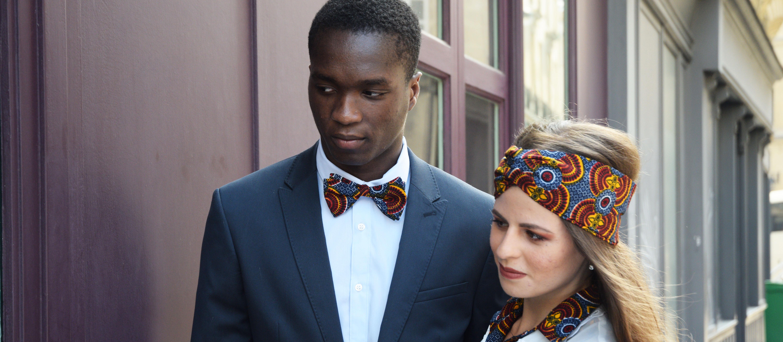 Le Noeud Kipé - Accessoires Wax - Homme Femme - Bannière