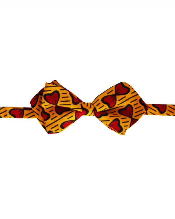 Noeud papillon Wax Homme Kipé - Petit Coeur