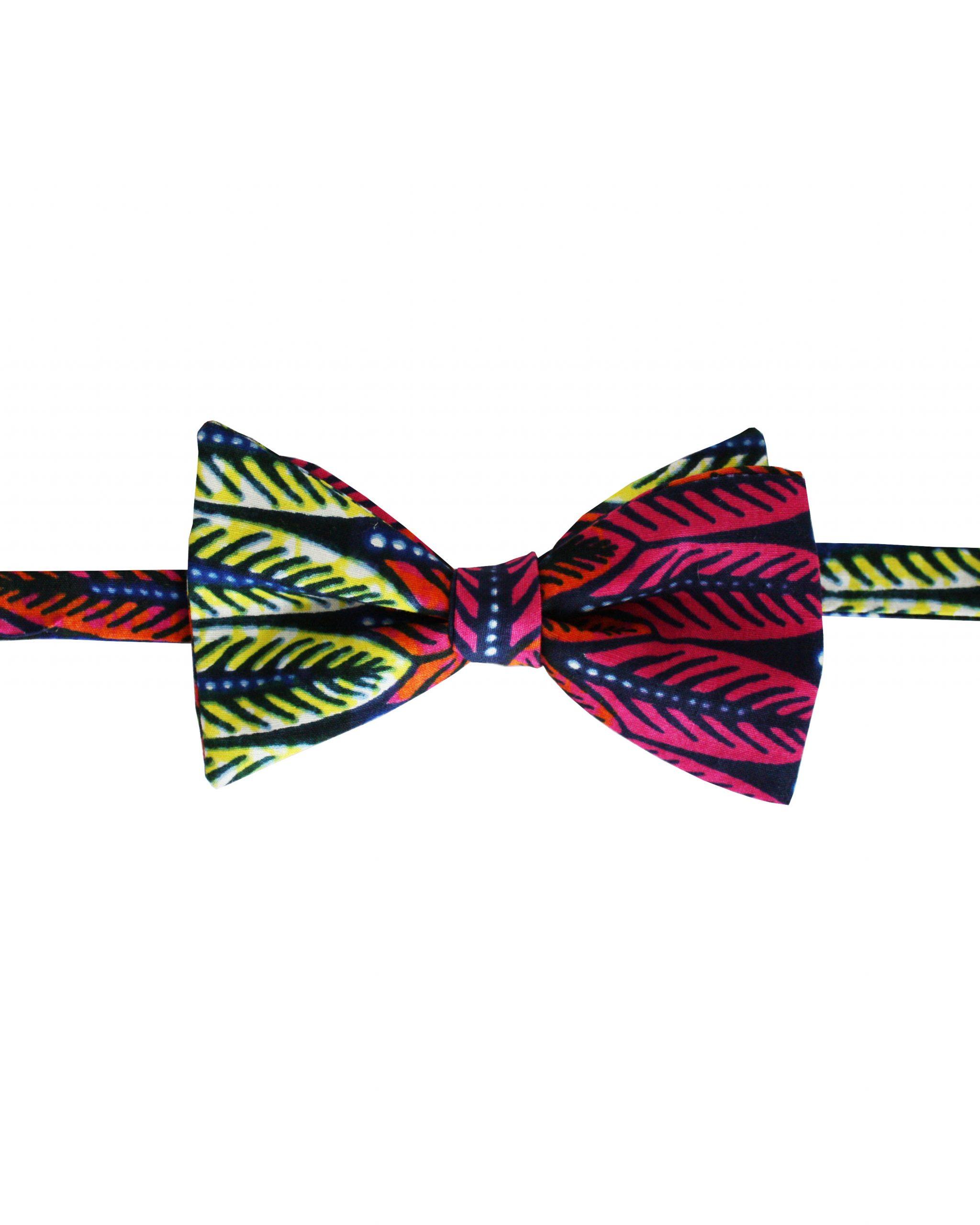 Noeud papillon Wax Homme Kipé - Plume Retro